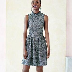 Anthro Ganni Pinnacle textured knit dress
